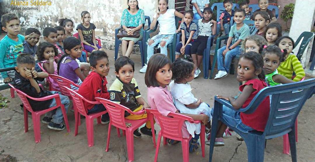 La situación actual de los niños en Venezuela