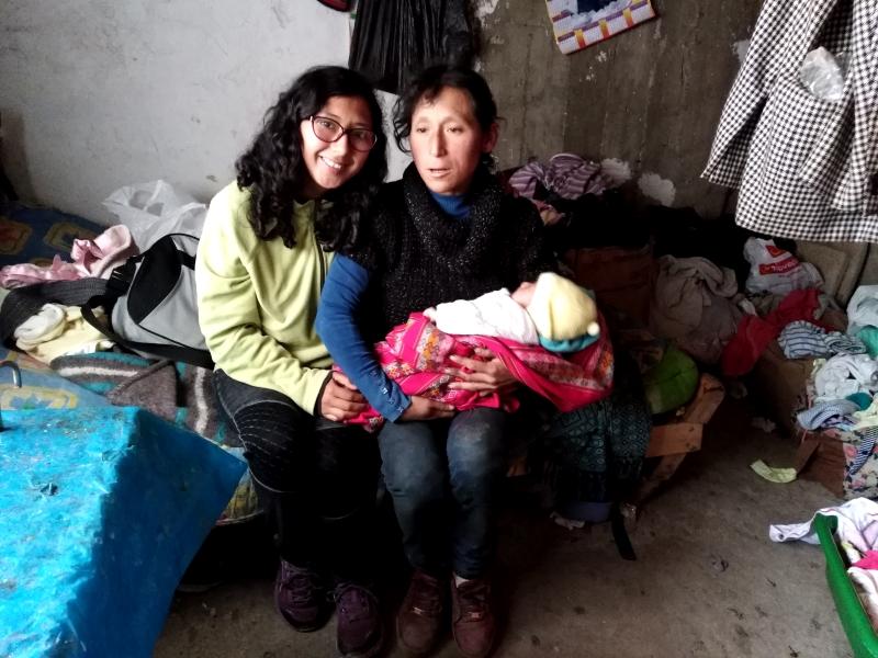 Turmanyé consigue que se acoja a una bebé en situación de vulnerabilidad